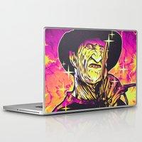 freddy krueger Laptop & iPad Skins featuring Freddy  by Retkikosmos