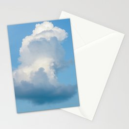 Cloud with blue sky Stationery Cards