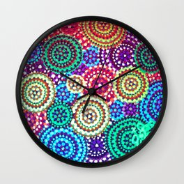 'Marys-Go-Round' in Sunlight Wall Clock