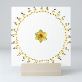 Daffodil Madness Mini Art Print