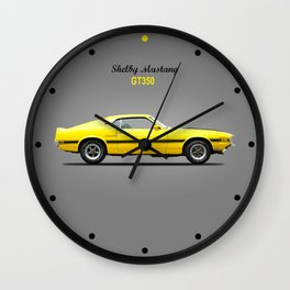 The Shelby Mustang GT350 Wall Clock