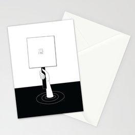 IT'S FINE Stationery Cards