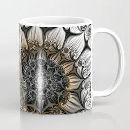 Noblesse, Modern Abstract Fractal Art Coffee Mug