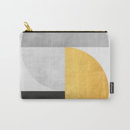 Golden Geometric Art VII Carry-All Pouch