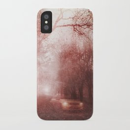Ghost race iPhone Case
