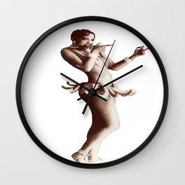 Josephine Baker - Créole Goddess Wall Clock