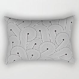 Wavy Swirls Rectangular Pillow