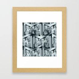 Selenium Hinge Framed Art Print