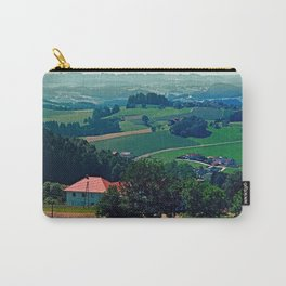 Spring scenery with hazy horizon Carry-All Pouch