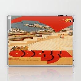 Vintage poster - Odessa Laptop & iPad Skin