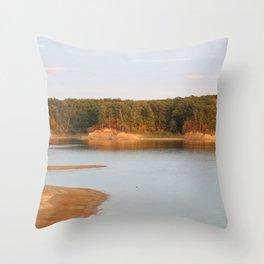 Wolf Creek Overlook Throw Pillow