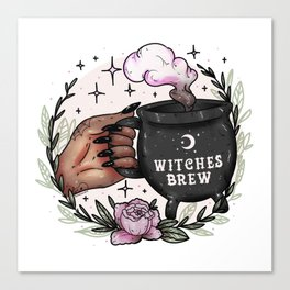 Witches Brew Canvas Print