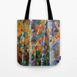 Birch trees - 1 Tote Bag