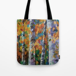 Birch trees - 1 Tote Bag
