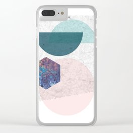90s  superposition Clear iPhone Case