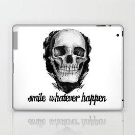 Smile whatever happen Laptop & iPad Skin