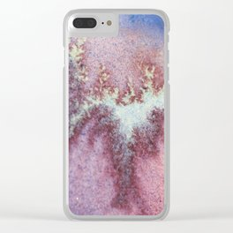 Wrinkled 5 micro 1 Clear iPhone Case