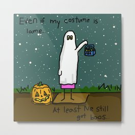 Ghosts At Parties Metal Print