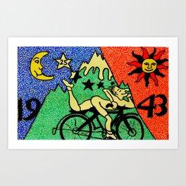 Bike Day Art Print