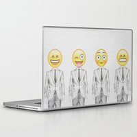 suit Laptop & iPad Skins featuring Suit & Tie  by BTP Designs