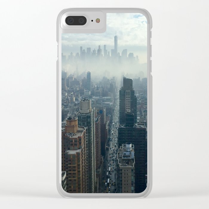 More Fog Less Smog Clear iPhone Case
