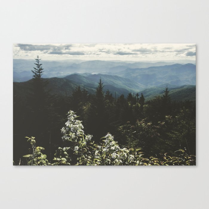 Smoky Mountains - Nature Photography Canvas Print