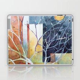 Le torri e la luna Laptop & iPad Skin