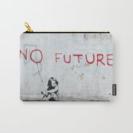 Banksy, No Future Carry-All Pouch