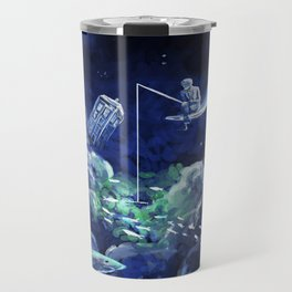 The Doctor Dreaming Of Fishing Travel Mug