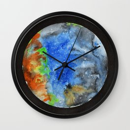 Space Confined Wall Clock