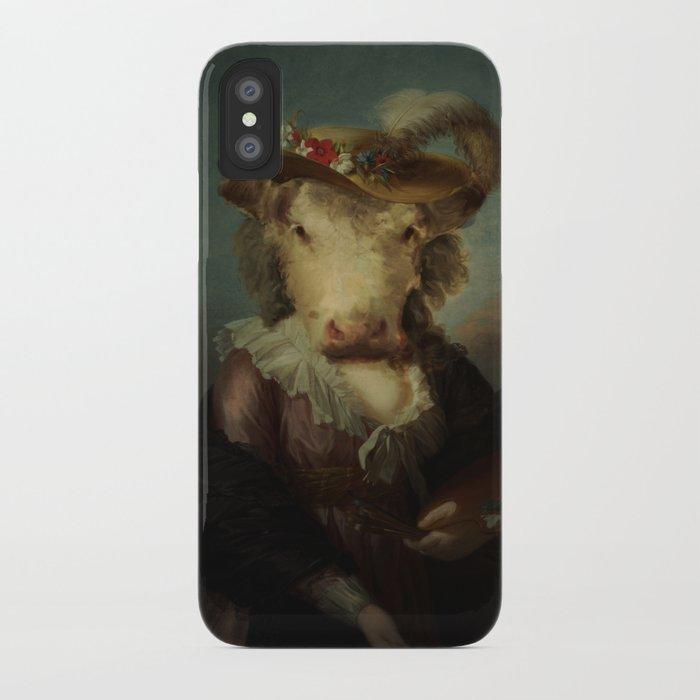 Cow #1 iPhone Case