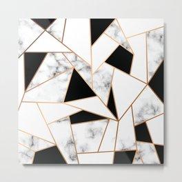 Marble III 003 Metal Print