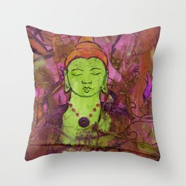 Queer Buddha ~ Knowledge Throw Pillow