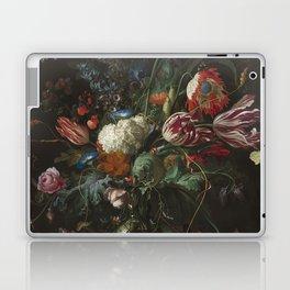Jan Davidsz de Heem - Vase of Flowers (c.1660) Laptop & iPad Skin
