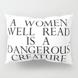 dangerous creature Pillow Sham