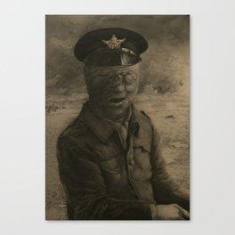 El soldado sin rostro Canvas Print