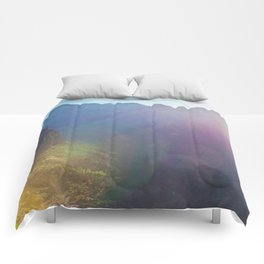 Arousal of Shadows (Zion National Park, Utah) Comforters