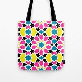 Arabesque CMYK Tote Bag
