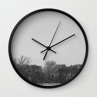 silent hill Wall Clocks featuring Silent by foureighteen
