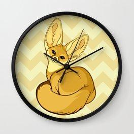 Fennec Fox Wall Clock