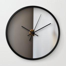 Split Space Wall Clock