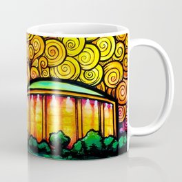 Blazing Czar, Setting Star Coffee Mug
