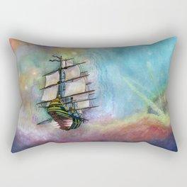 Mike's Tall Ship Rectangular Pillow