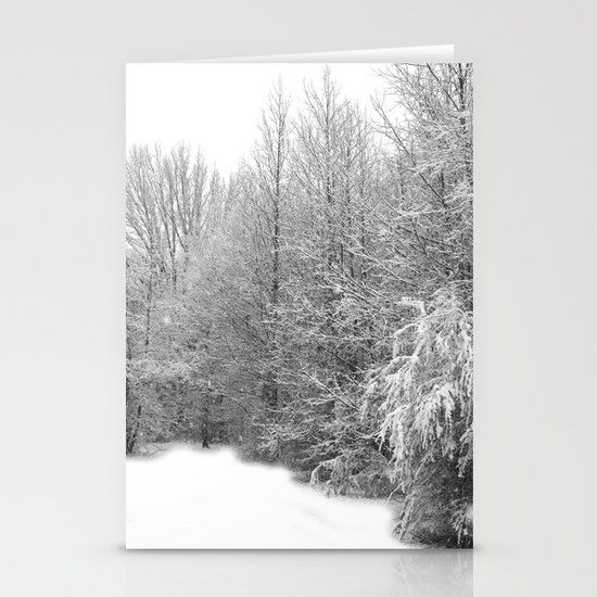 Snow 2 Stationery Cards