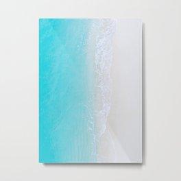 Turquoise Sea 3 Metal Print