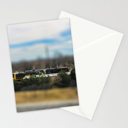 Train by Monique Ortman Stationery Cards