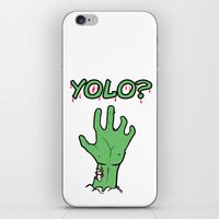 yolo iPhone & iPod Skins featuring Yolo? by theDesign Attic
