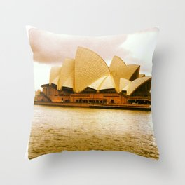 Take me to the Opera Throw Pillow