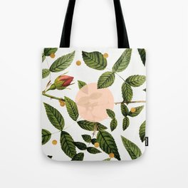 Leaves + Dots Tote Bag