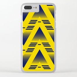 Arsenal 1991-1993 away Clear iPhone Case
